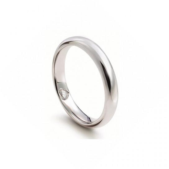 Кольцо обручальное D.Cuore