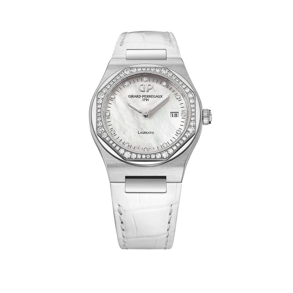 Часы Laureato 34 mm Girard-Perregaux 80189D11A1830CB7A