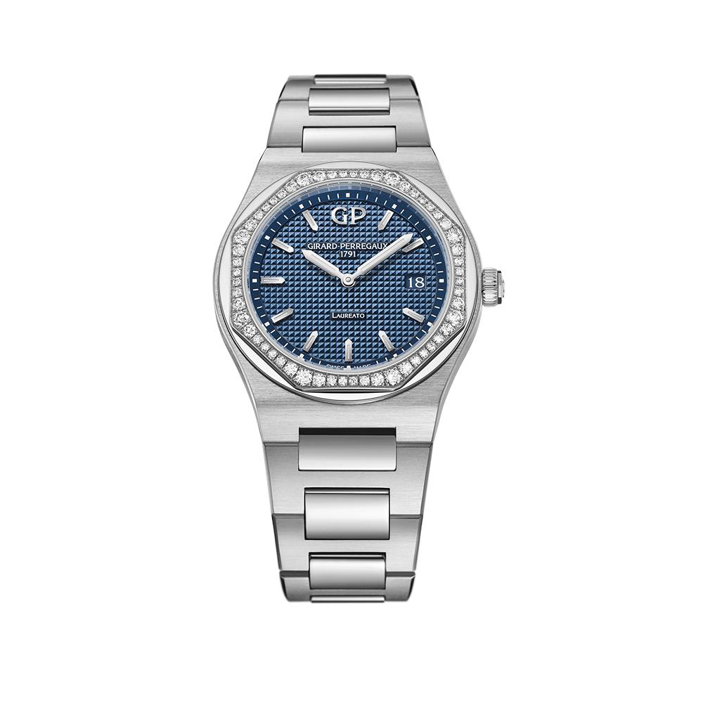 Часы Laureato 34 mm Girard-Perregaux 80189D11A431-11A