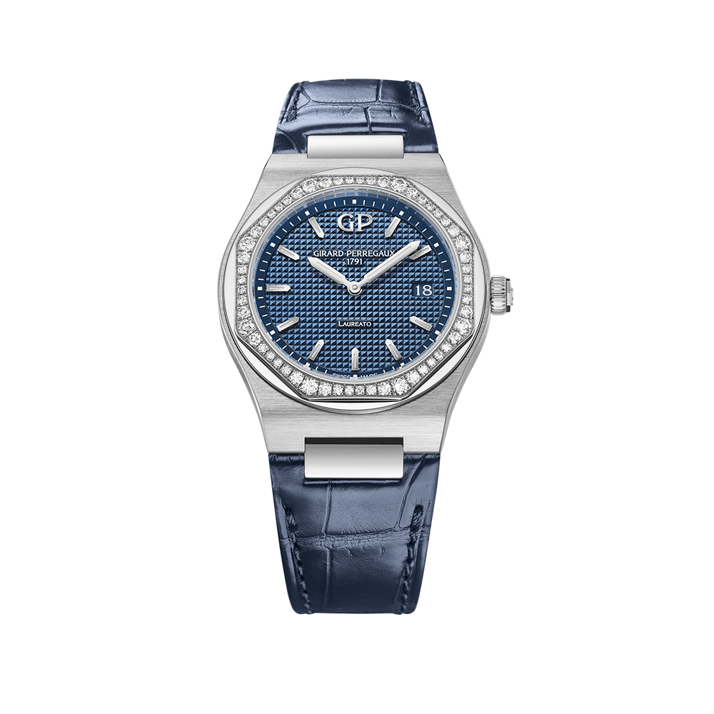 Часы Laureato 34 mm Girard-Perregaux 80189D11A431-CB6A
