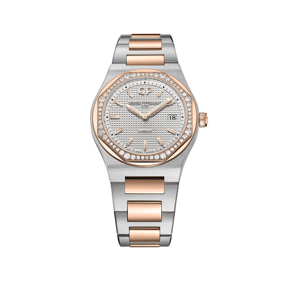 Часы Laureato  34 mm Girard-Perregaux 80189D56A132-56A