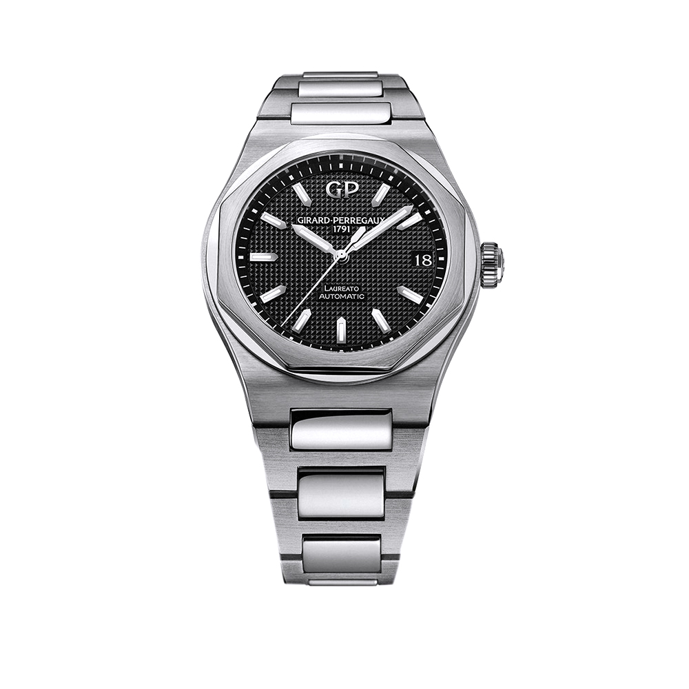 Часы Laureato 42 mm Girard-Perregaux 81010-11-634-11A