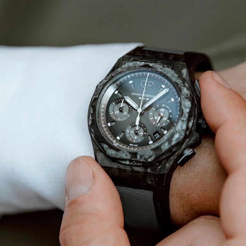 Часы Laureato Absolute Crystal Rock Girard-Perregaux 81060-36-693-FH6A - 4