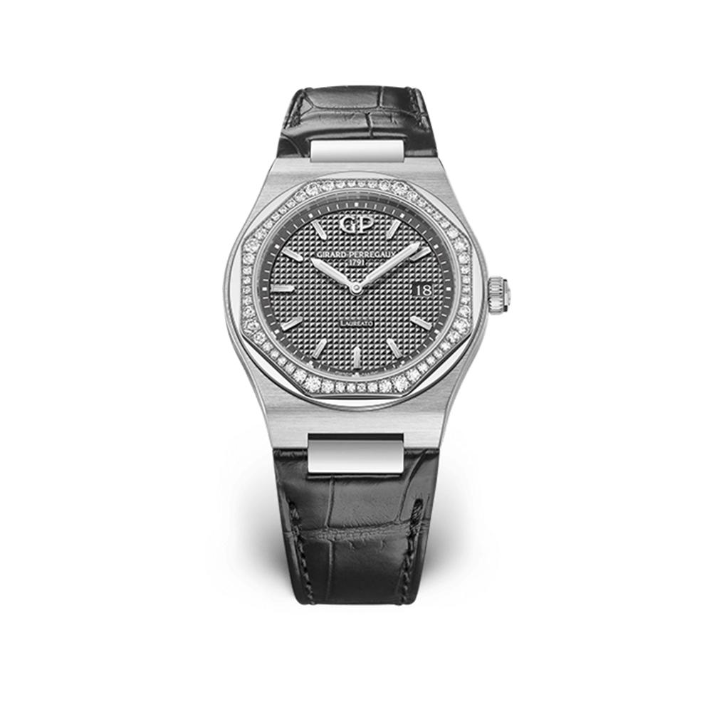 Часы Laureato 34 mm Girard-Perregaux 80189D11A231-CB6A
