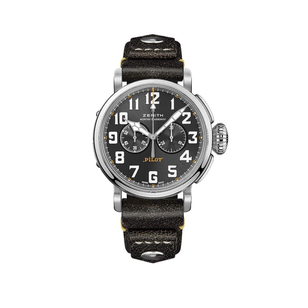 Часы Pilot Type 20 Chronograph Rescue  Zenith 03.2434.4069/20.I010