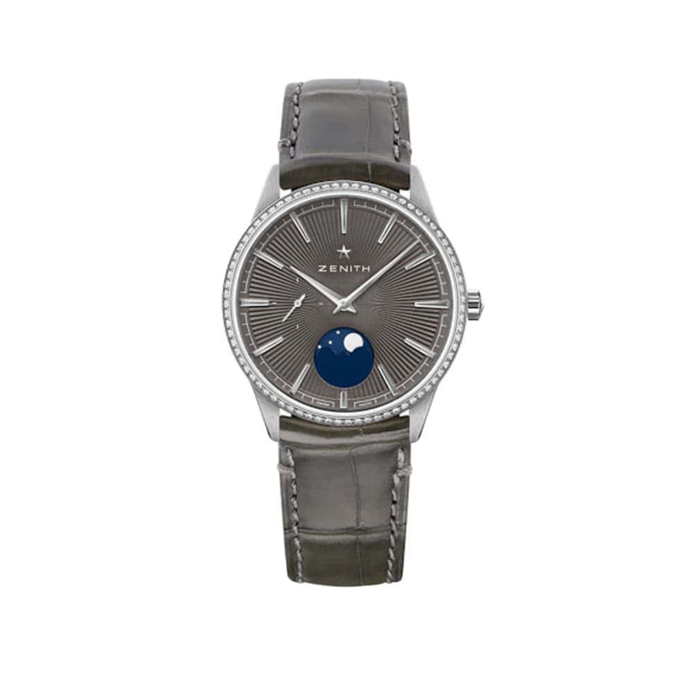Часы Elite Moonphase Zenith 16.3200.692/03.C833