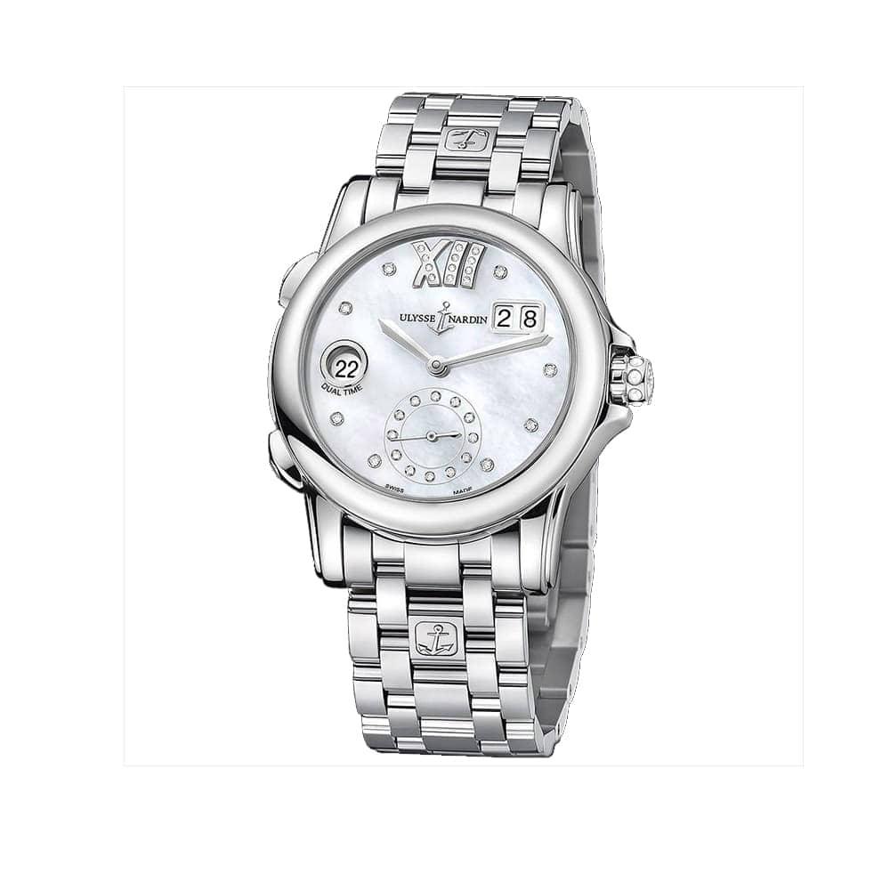 Часы Dual Time Lady Ulysse Nardin 3343-222-7/391