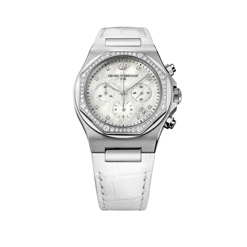 Часы Laureato Chronograph Lady 38mm Girard-Perregaux 81040D11A771-BB7B