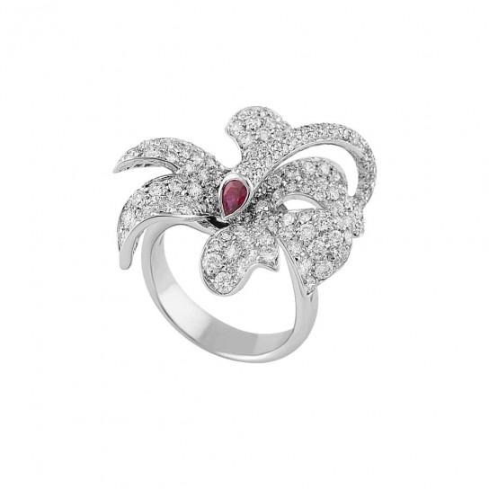 Кольцо Fleur de Lune