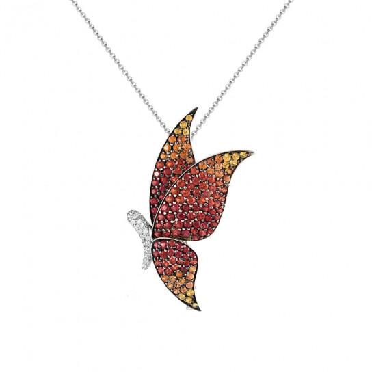 Брошь-Кулон Butterfly