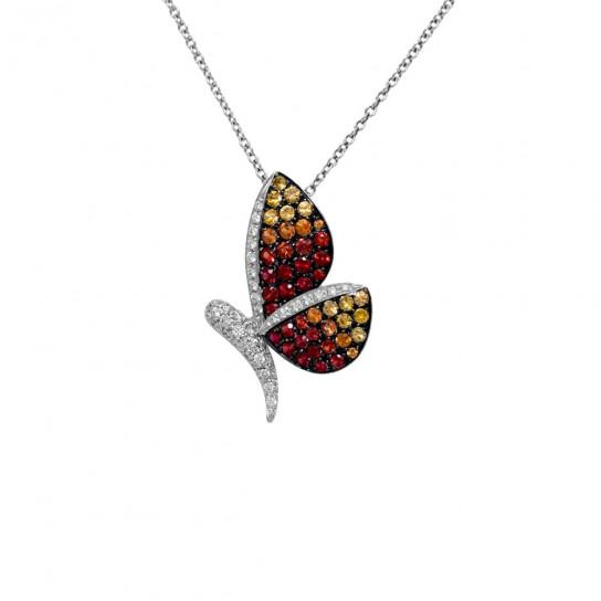 Колье Butterflies