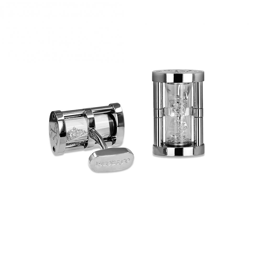 Запонки Hourglass  Jacob & Co. 91433451
