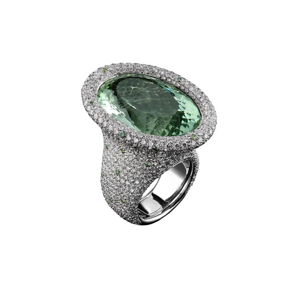 Кольцо Captured Stone Palmiero AN5435BBER