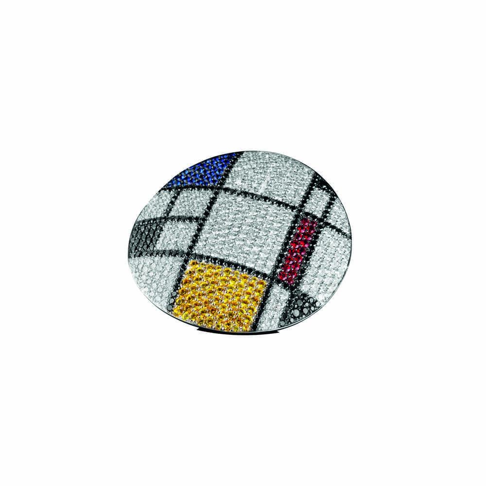 Кольцо Art Collection Homage to Mondrian Palmiero AN7599B