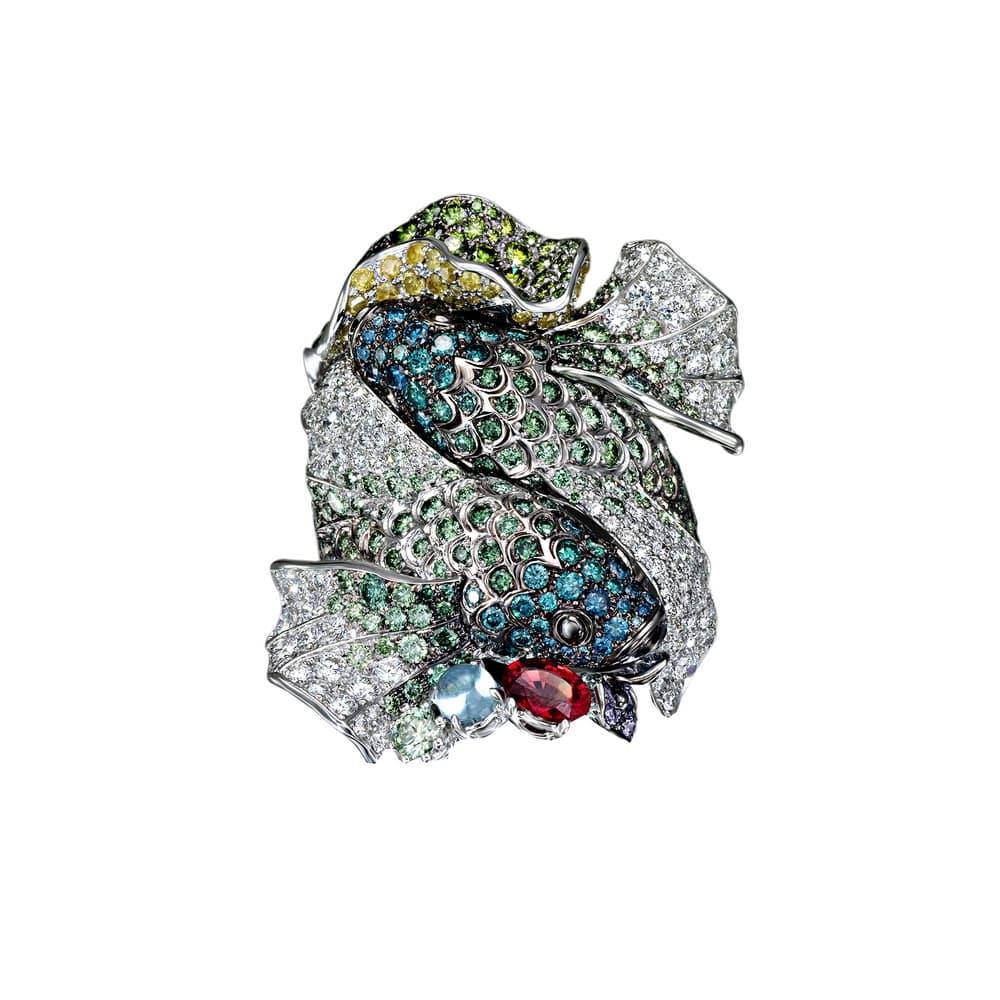 Кольцо Underwater World Koi Palmiero AN8193B