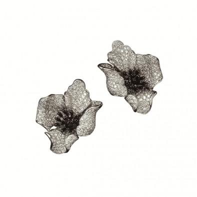 Серьги Poppy Flower