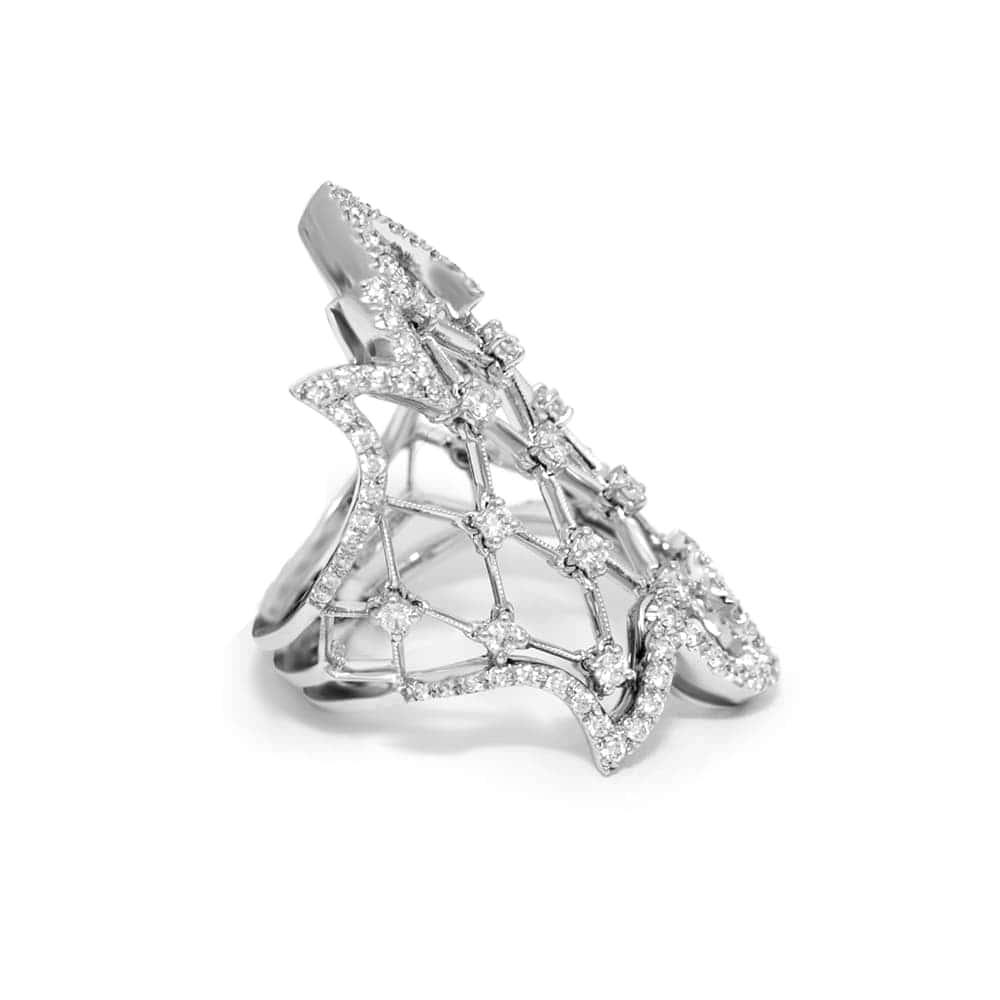 Кольцо Gothica  Stefan Hafner 03020RG100