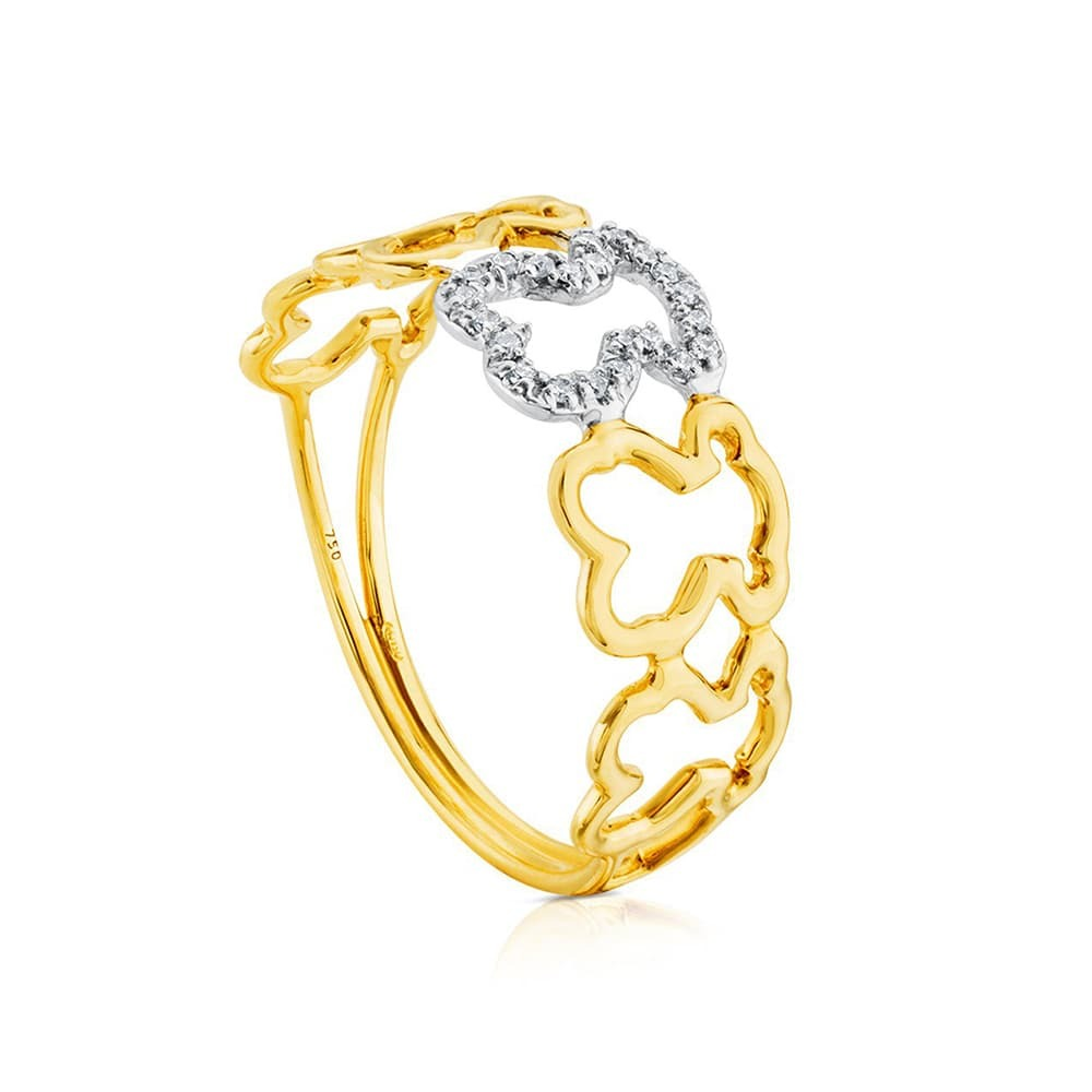 Кольцо Silueta  Tous 31.356.515.0 - 1