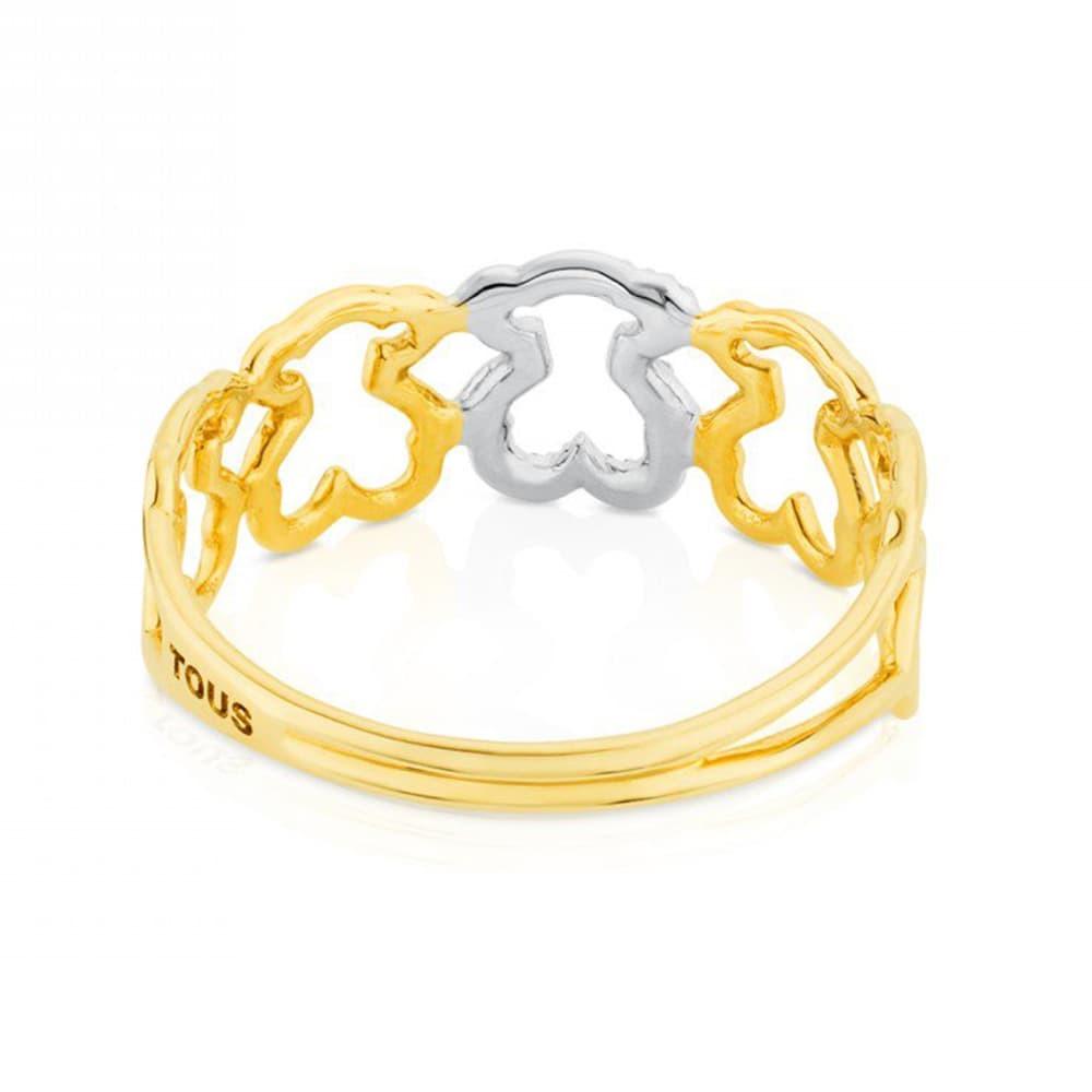 Кольцо Silueta  Tous 31.356.515.0 - 2