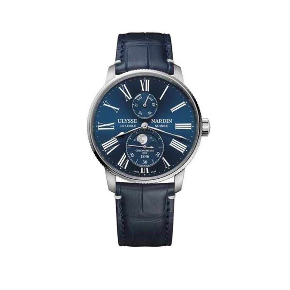 Часы Marine Torpilleur Moonphase Ulysse Nardin 1193-310LE-3A-175/1A