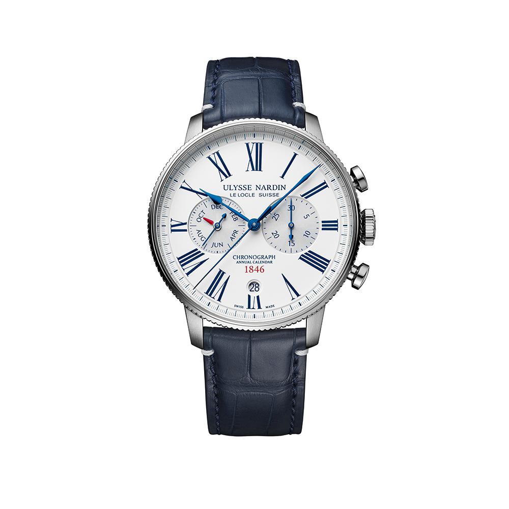 Часы Marine Torpilleur Chronograph Ulysse Nardin 1533-320LE-0A-175/1B