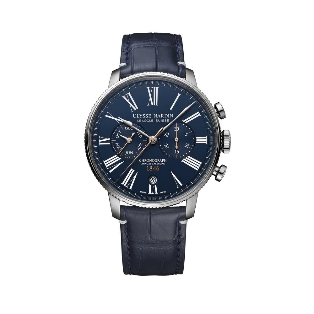 Часы Marine Torpilleur Chronograph Ulysse Nardin 1533-320LE-3A-175/1B