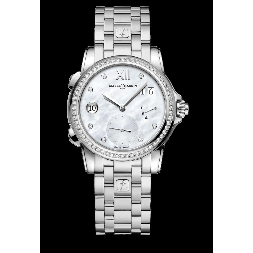 Часы Dual Time Lady Ulysse Nardin 3243-222B1-9A/7A