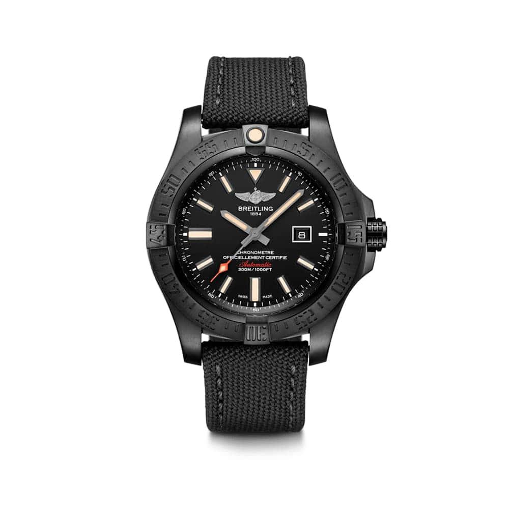 Часы  Avenger Blackbird Breitling V17310101B1W1