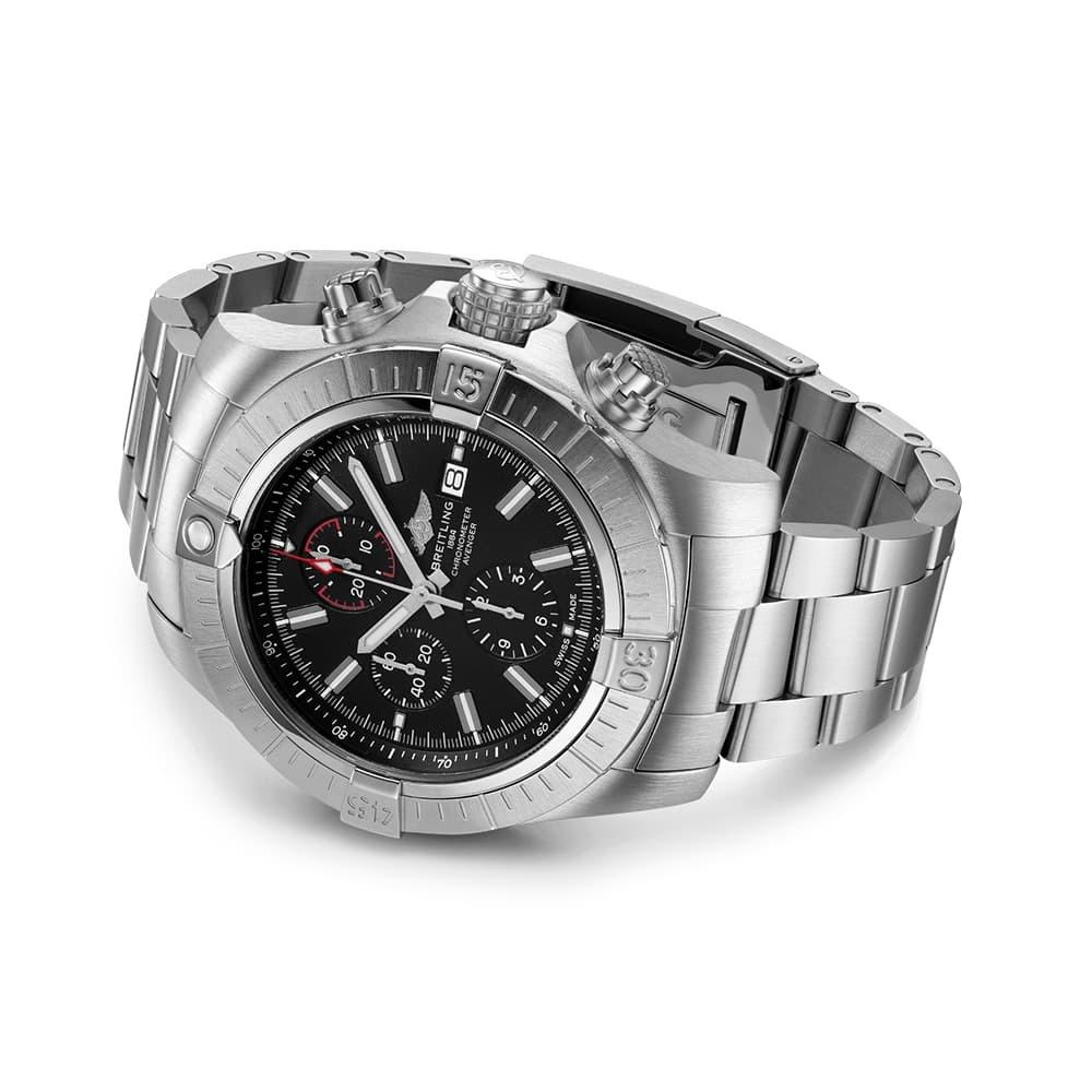 Часы Super Avenger Chronograph 48 Breitling A13375101B1A1 - 2