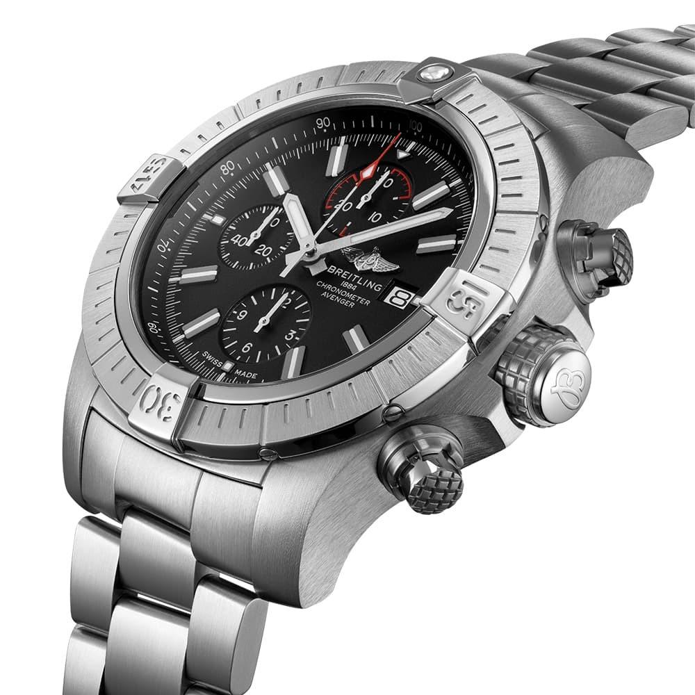 Часы Super Avenger Chronograph 48 Breitling A13375101B1A1 - 3