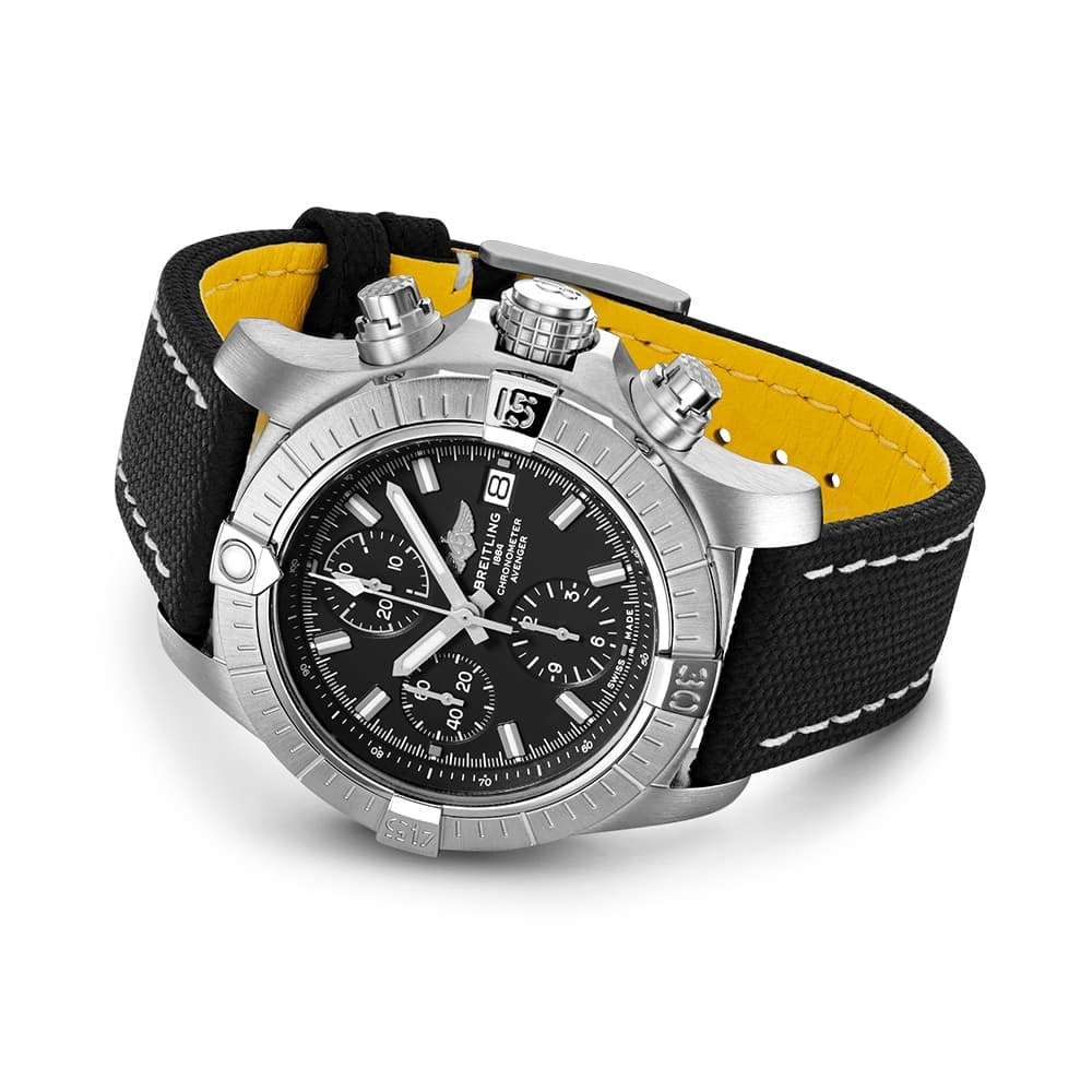 Часы Avenger Chronograph 43 Breitling A13385101B1X2 - 3