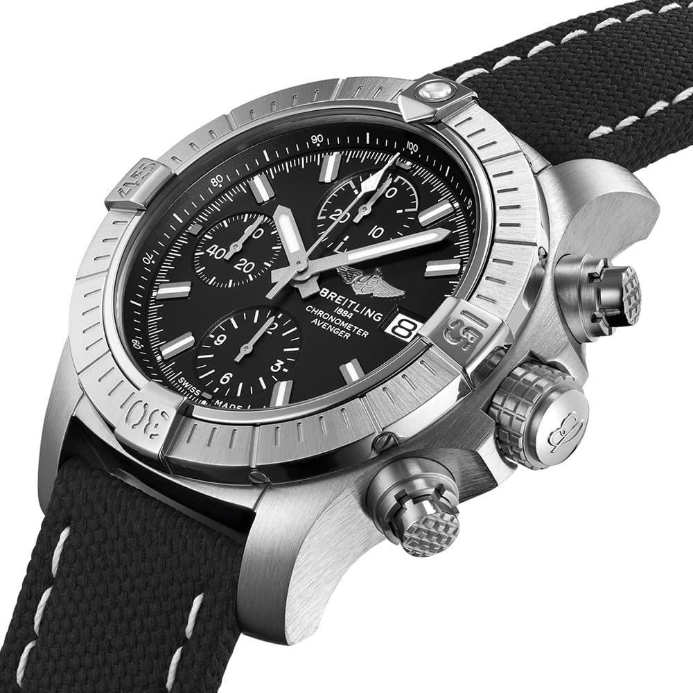 Часы Avenger Chronograph 43 Breitling A13385101B1X2 - 2