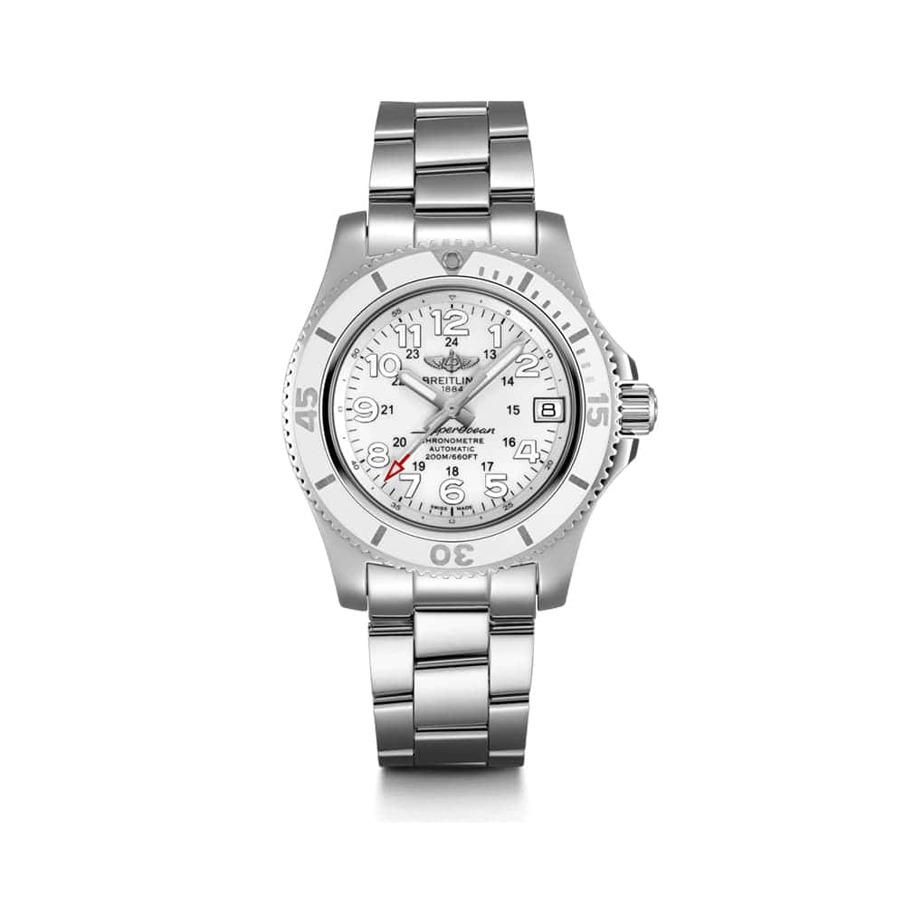 Часы Superocean II 36 Breitling A17312D21A1A1