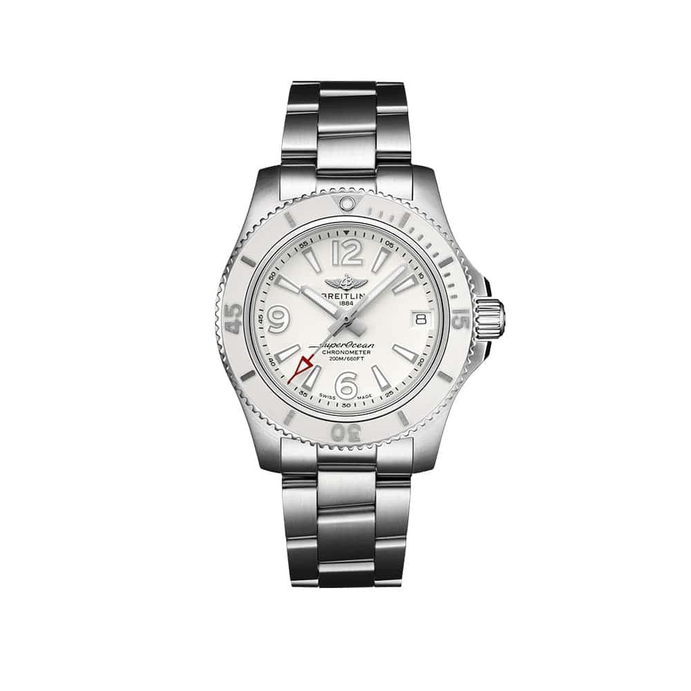Часы Superocean Automatic 36 Breitling A17316D21A1A1
