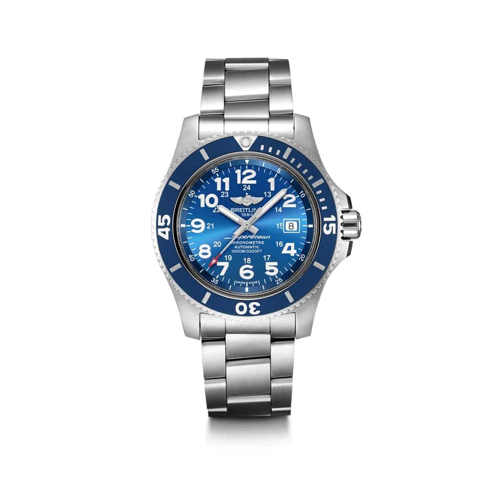 Часы Superocean II 44 Breitling A17392D81C1A1