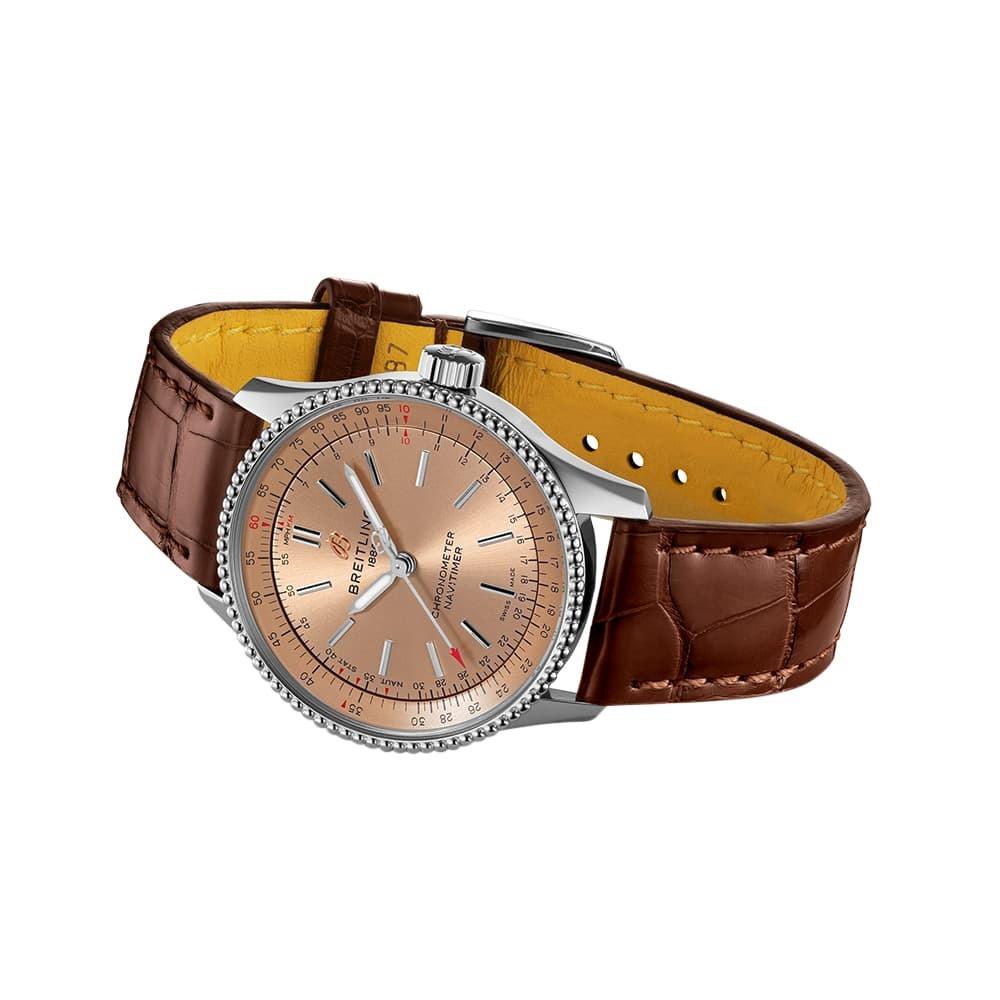Часы Navitimer Automatic 35 Breitling A17395161K1P2 - 2