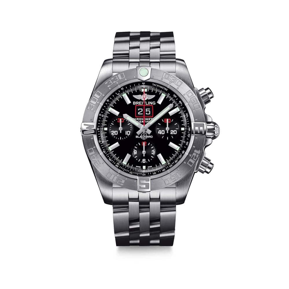 Часы  Chronomat Blackbird Breitling A4436010/BB71/379A
