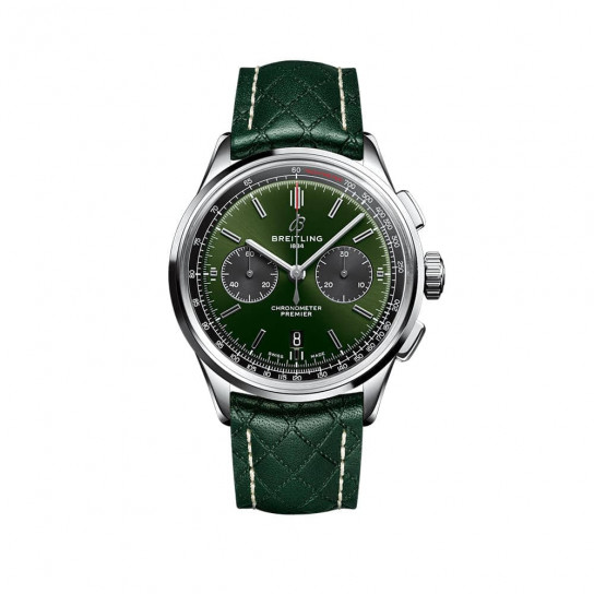 Часы  Premier B01 Chronograph 42 Bentley British Racing Green