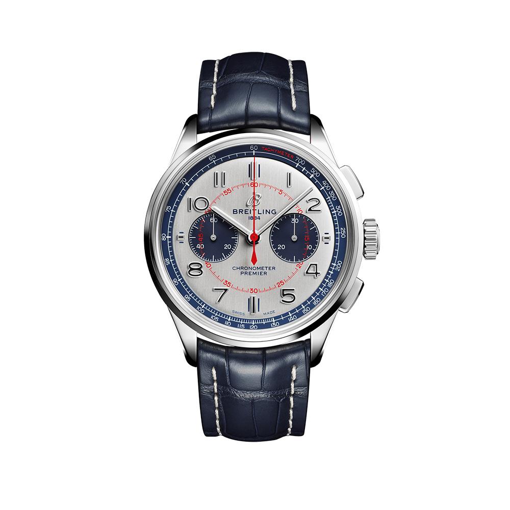 Часы Premier B01 Chronograph 42 Bentley Mulliner Limited Edition Breitling AB0118A71G1P2 - 1