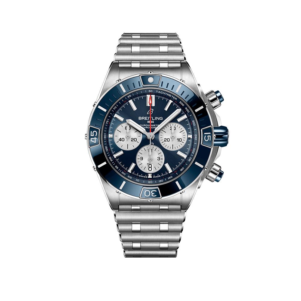Часы Super Chronomat B01 44 Breitling AB0136161C1A1 - 1