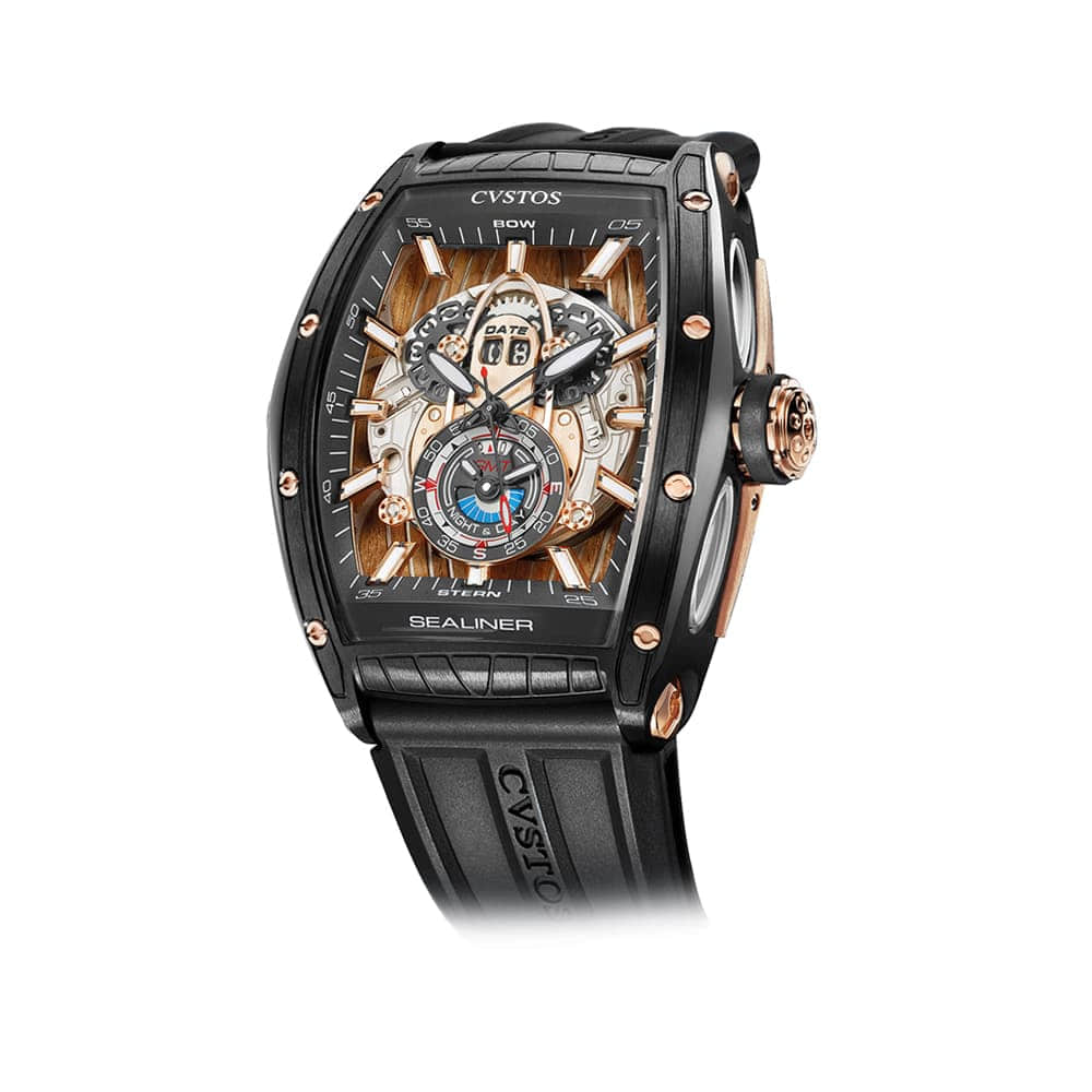 Часы Challenge GT Sealiner GMT Black Sea  Cvstos Challenge Sealiner GT GMT