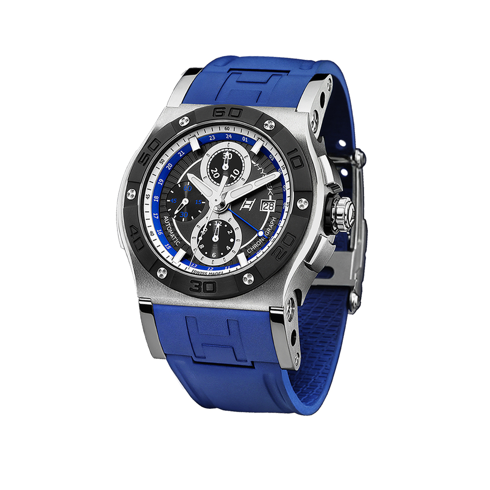 Часы  ABYSS Chronograph & Dual Time 47mm Hysek AB4702T01