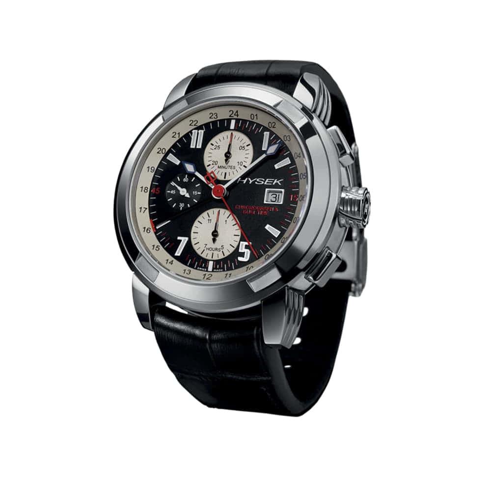 Часы IO Chronograph&Dual Time 47mm Hysek IO4704A01