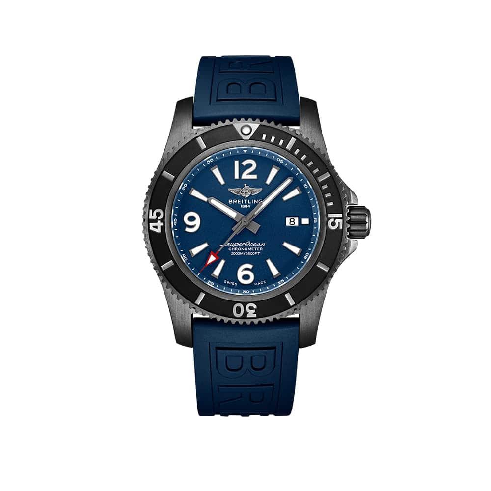 Часы Superocean Automatic 46 Black Steel Breitling M17368D71C1S1