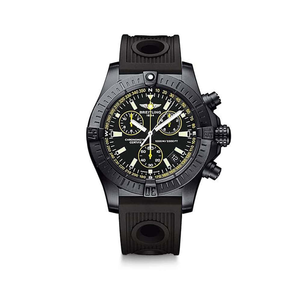 Часы  Avenger Seawolf Chrono Blacksteel Breitling M73390T1/BA87/200S