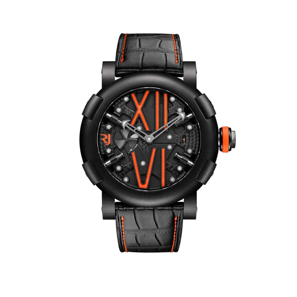 Часы Steampunk Auto Orange RJ RJ.T.AU.SP.005.05