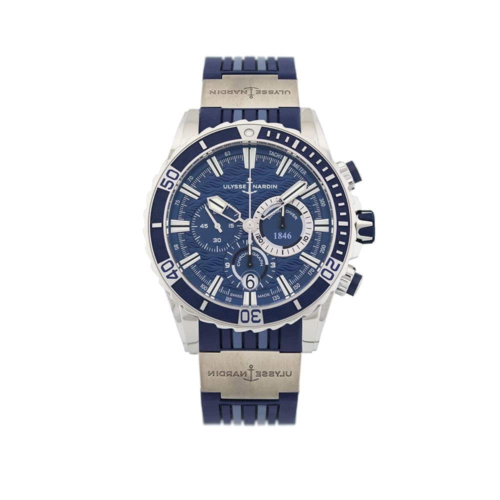 Часы Diver Chronograph Ulysse Nardin 1503-151-3/93