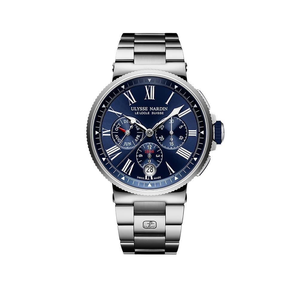 Часы Chronograph Ulysse Nardin 1533-150-7M/43