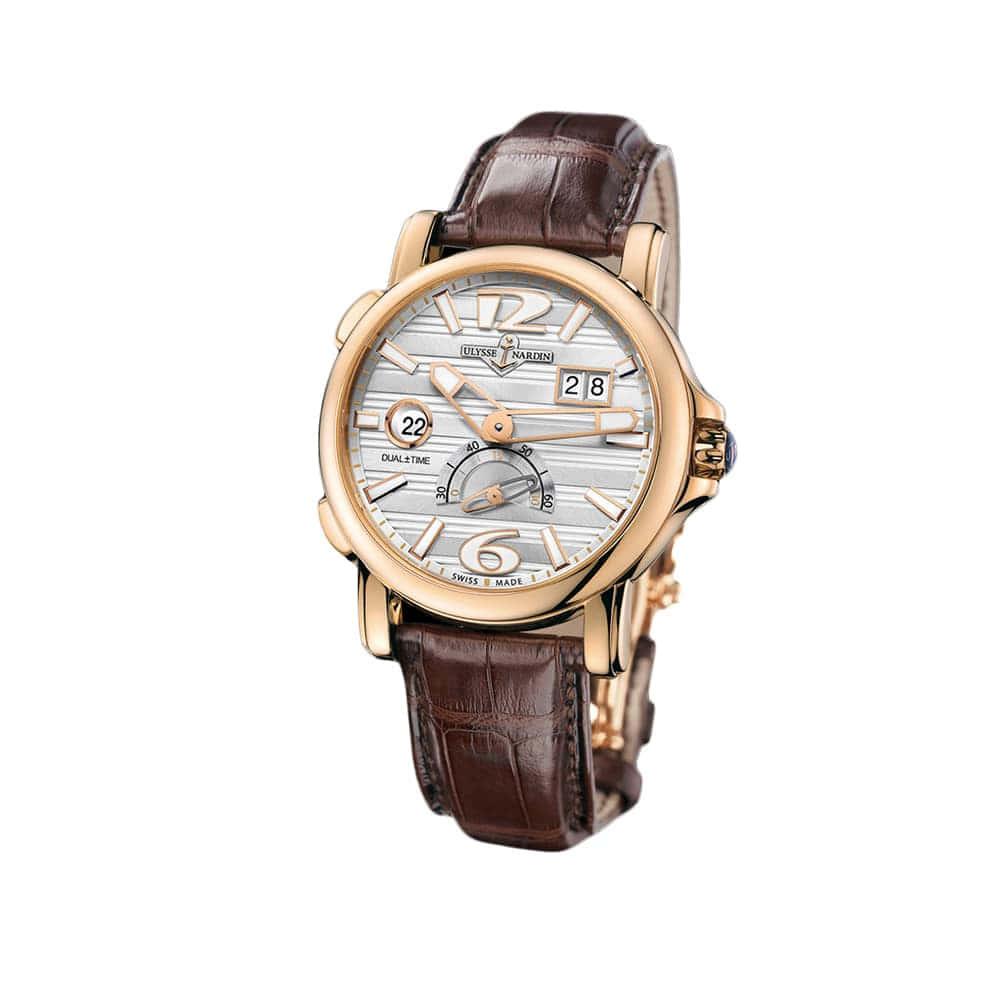 Часы GMT Dual Time Ulysse Nardin 246-55/60