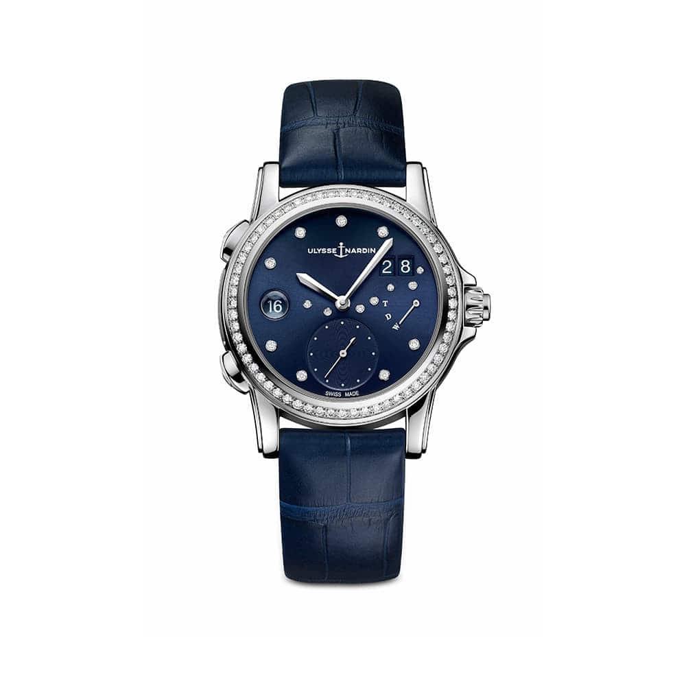 Часы Dual Time Lady Ulysse Nardin 3243-222B/393